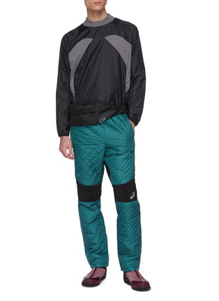 Figure View - Click To Enlarge - KIKO KOSTADINOV - xASICS quilted panel insulated pants