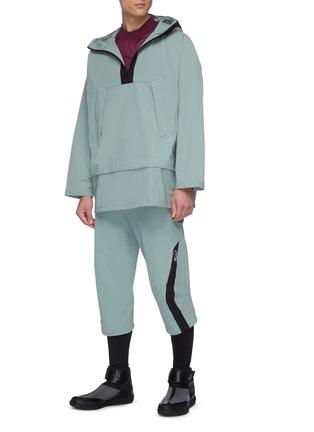 Figure View - Click To Enlarge - KIKO KOSTADINOV - xASICS adjustable waist panel outseam pants