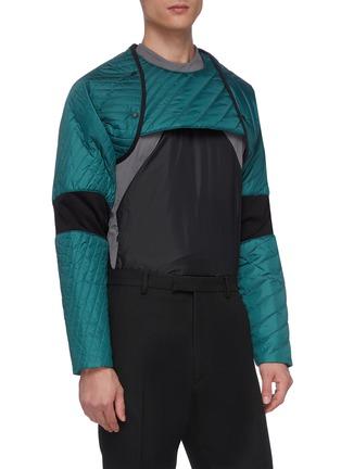 Detail View - Click To Enlarge - KIKO KOSTADINOV - xASICS colourblock panel reversible insulated jacket