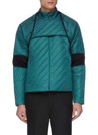 Main View - Click To Enlarge - KIKO KOSTADINOV - xASICS colourblock panel reversible insulated jacket