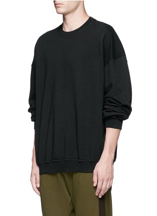 Front View - Click To Enlarge - Haider Ackermann - 'Perth' oversized sweatshirt