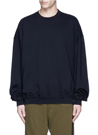 Main View - Click To Enlarge - Haider Ackermann - 'Perth' oversized sweatshirt