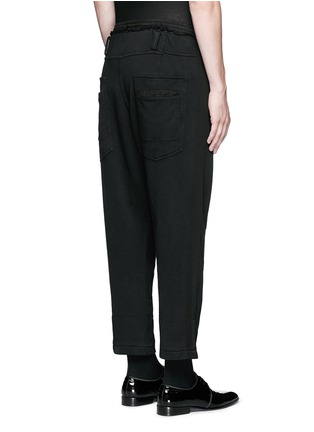 Back View - Click To Enlarge - Haider Ackermann - 'Perth' relaxed fit jogging pants