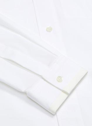 - UNCENSORED - Mandarin collar shirt
