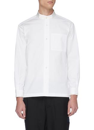 Main View - Click To Enlarge - UNCENSORED - Mandarin collar shirt