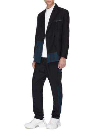 Figure View - Click To Enlarge - UNCENSORED - Mandarin collar shirt