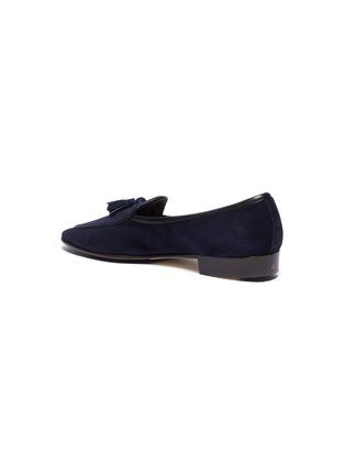 - BAUDOIN & LANGE - 'Sagan' tassel suede loafers