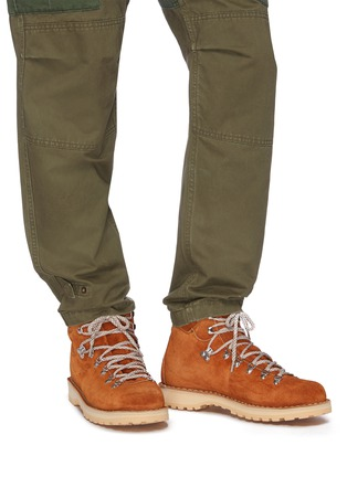 Figure View - Click To Enlarge - DIEMME - 'Roccia Viet' suede hiking boots