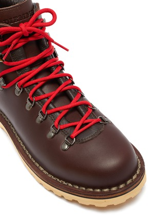 Detail View - Click To Enlarge - DIEMME - 'Roccia Viet' leather hiking boots