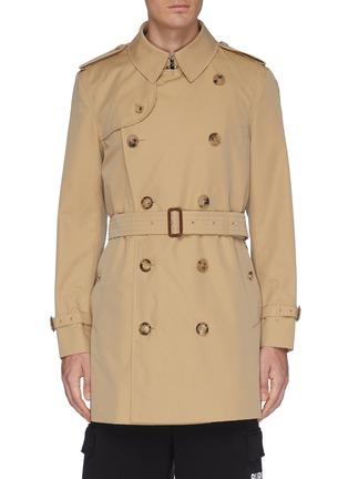 b19bf8c8c3928 BURBERRY 'Wimbledon' belted gabardine trench coat
