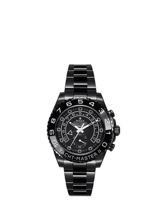 Main View - Click To Enlarge - Bamford Watch Department - Rolex Yachtmaster II 'Stealth Ghost' Oyster Perpetual watch