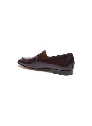 - EDHÈN - 'Brera' double monk strap leather shoes