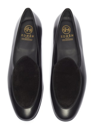 Detail View - Click To Enlarge - EDHÈN - 'Kensington' suede panel leather loafers