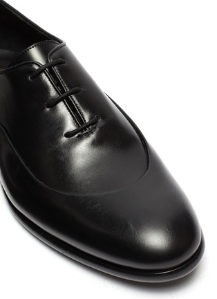 Detail View - Click To Enlarge - EDHÈN - 'Montigne' panelled leather Oxfords