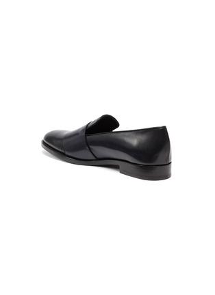 - EDHÈN - 'Park' double monk strap leather shoes
