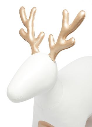Detail View - Click To Enlarge - ZUNY - Giant reindeer Miyo – White /Gold