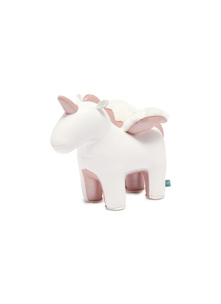 Main View - Click To Enlarge - ZUNY - Unicorn with wings bookend – Rose Gold