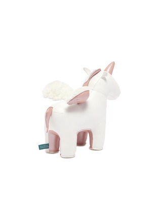 Figure View - Click To Enlarge - ZUNY - Unicorn with wings bookend – Rose Gold