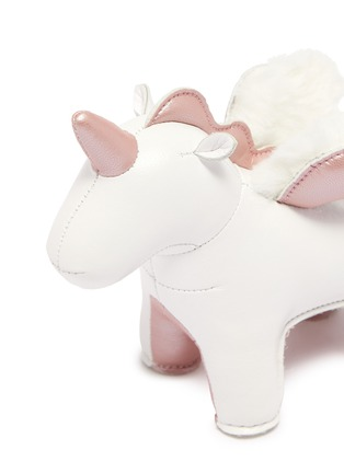 Detail View - Click To Enlarge - ZUNY - Unicorn with wings paperweight – Rose Gold