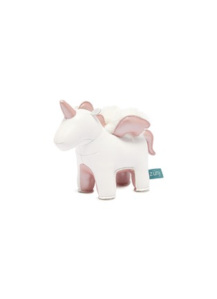 Main View - Click To Enlarge - ZUNY - Unicorn with wings paperweight – Rose Gold