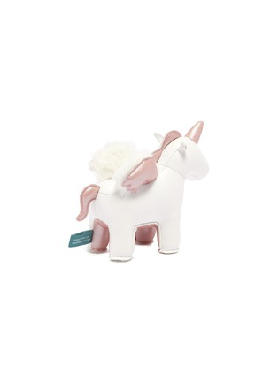Figure View - Click To Enlarge - ZUNY - Unicorn with wings paperweight – Rose Gold