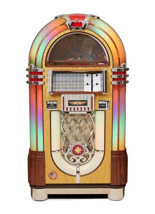 Main View - Click To Enlarge - RICATECH - 100CD Walnut Bubbler jukebox