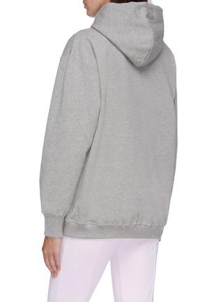 Back View - Click To Enlarge - VETEMENTS - Logo print hoodie