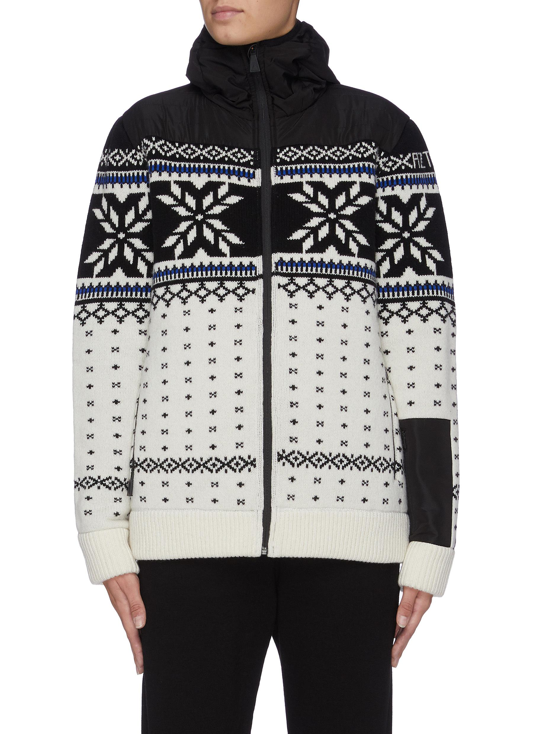 Buy Aztech Mountain Knitwear 'Aspen Flake' hooded sweater
