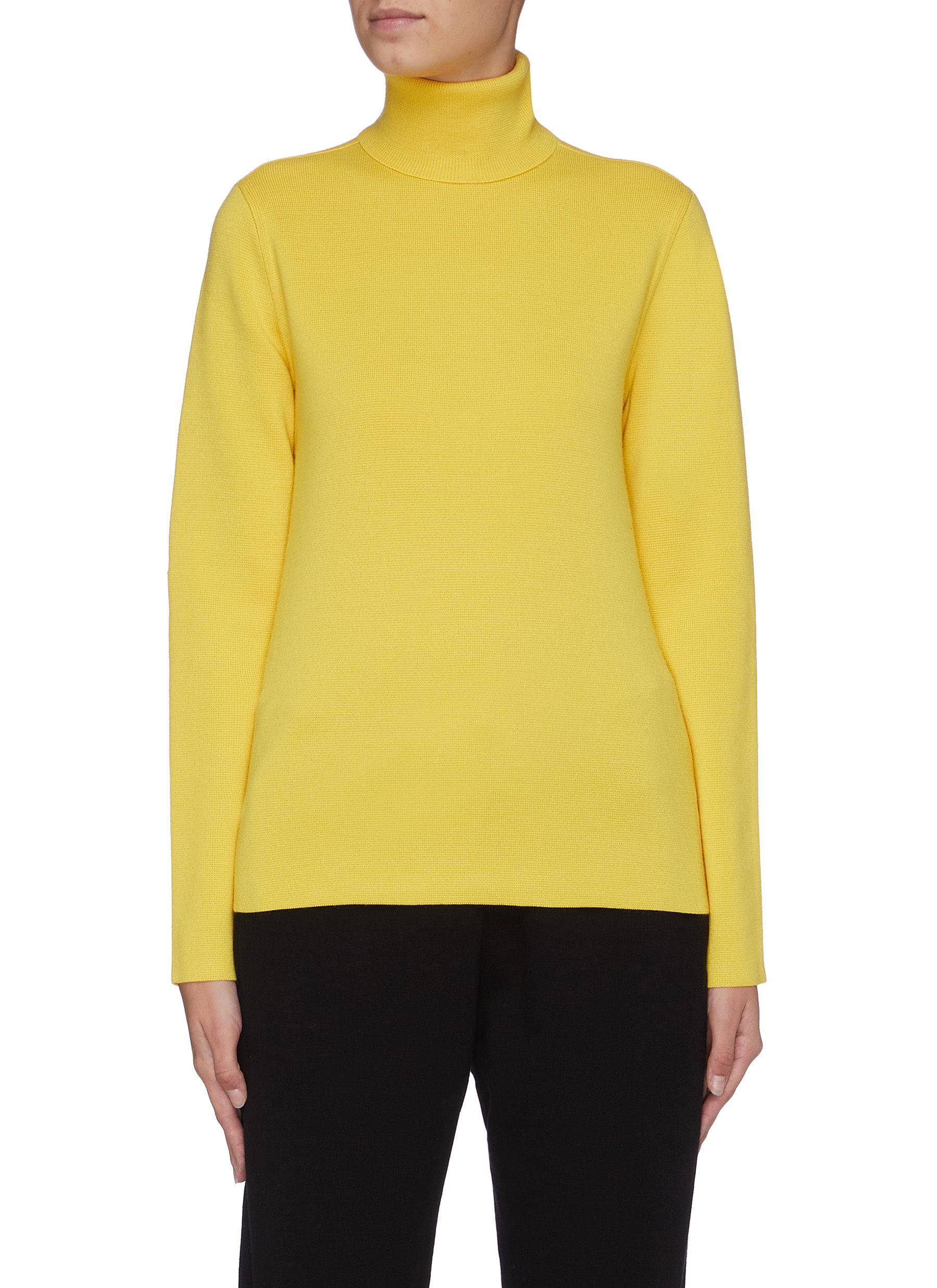 shop Aztech Mountain 'Matterhorn' contrast sleeve turtleneck sweater online