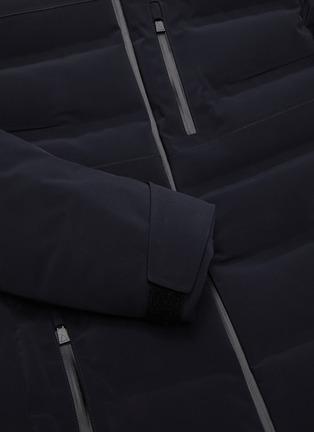- AZTECH MOUNTAIN - 'Multi Nuke Suit' panel hooded waterproof puffer jacket