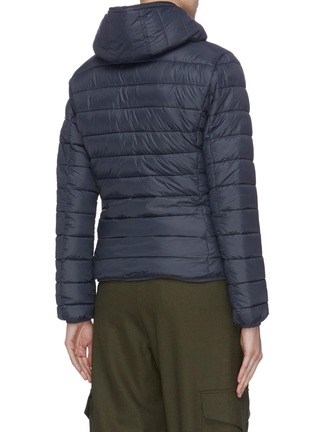 Back View - Click To Enlarge - SAVE THE DUCK - 'Classic' hooded puffer jacket