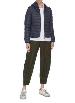 Figure View - Click To Enlarge - SAVE THE DUCK - 'Classic' hooded puffer jacket