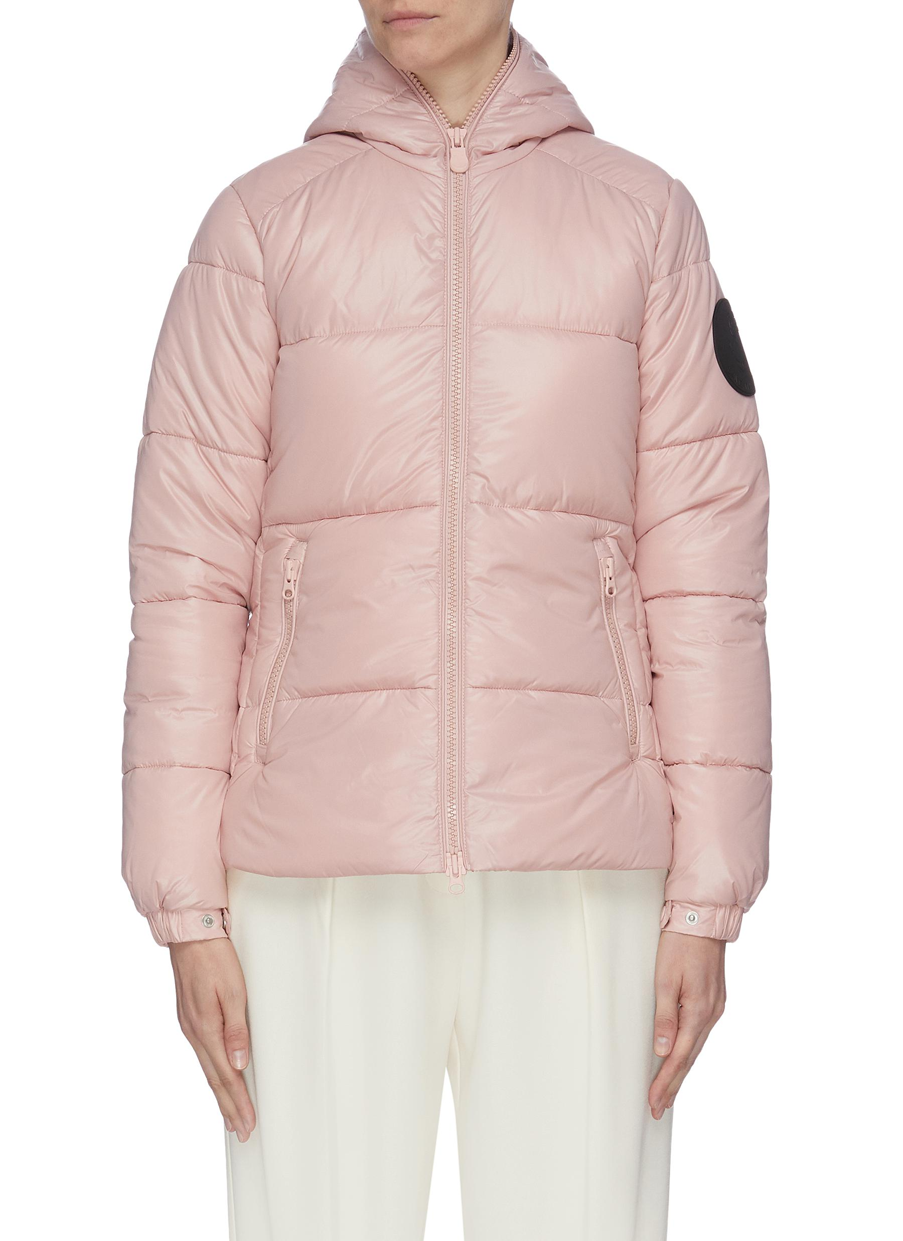 Hooded puffer jacket by Save The Duck