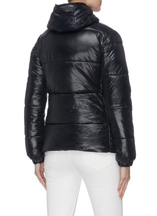 Back View - Click To Enlarge - SAVE THE DUCK - Hooded puffer jacket