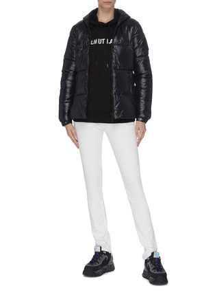 Figure View - Click To Enlarge - SAVE THE DUCK - Hooded puffer jacket