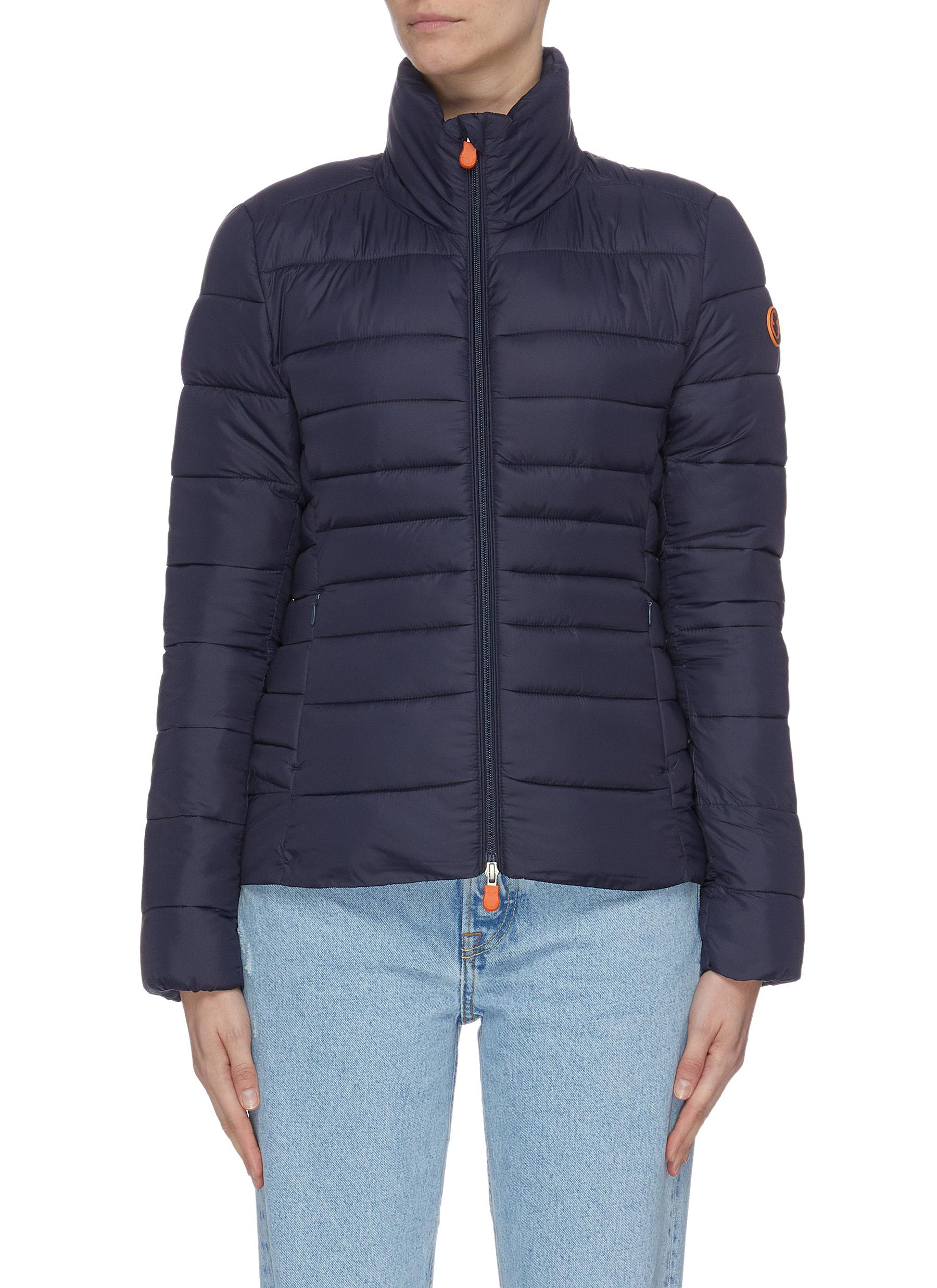 Classic hooded puffer jacket by Save The Duck