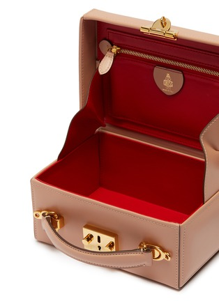Detail View - Click To Enlarge - MARK CROSS - 'Grace Small Box' leather trunk