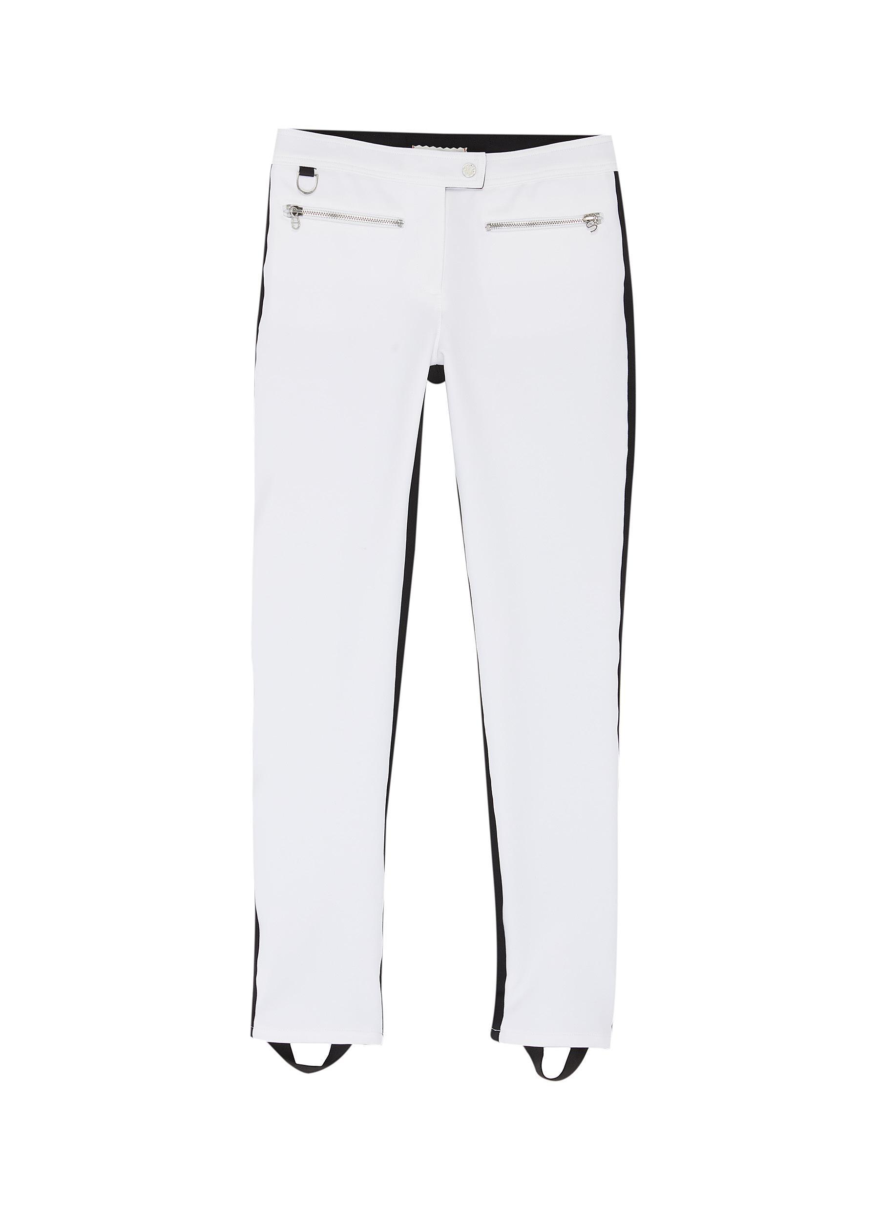 shop Erin Snow 'Jes' colourblock zip pocket performance ski pants online
