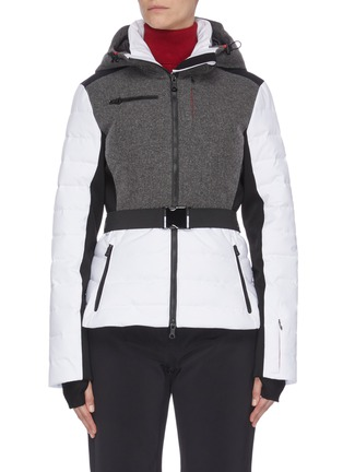Main View - Click To Enlarge - ERIN SNOW - 'Kat' panelled performance puffer ski jacket