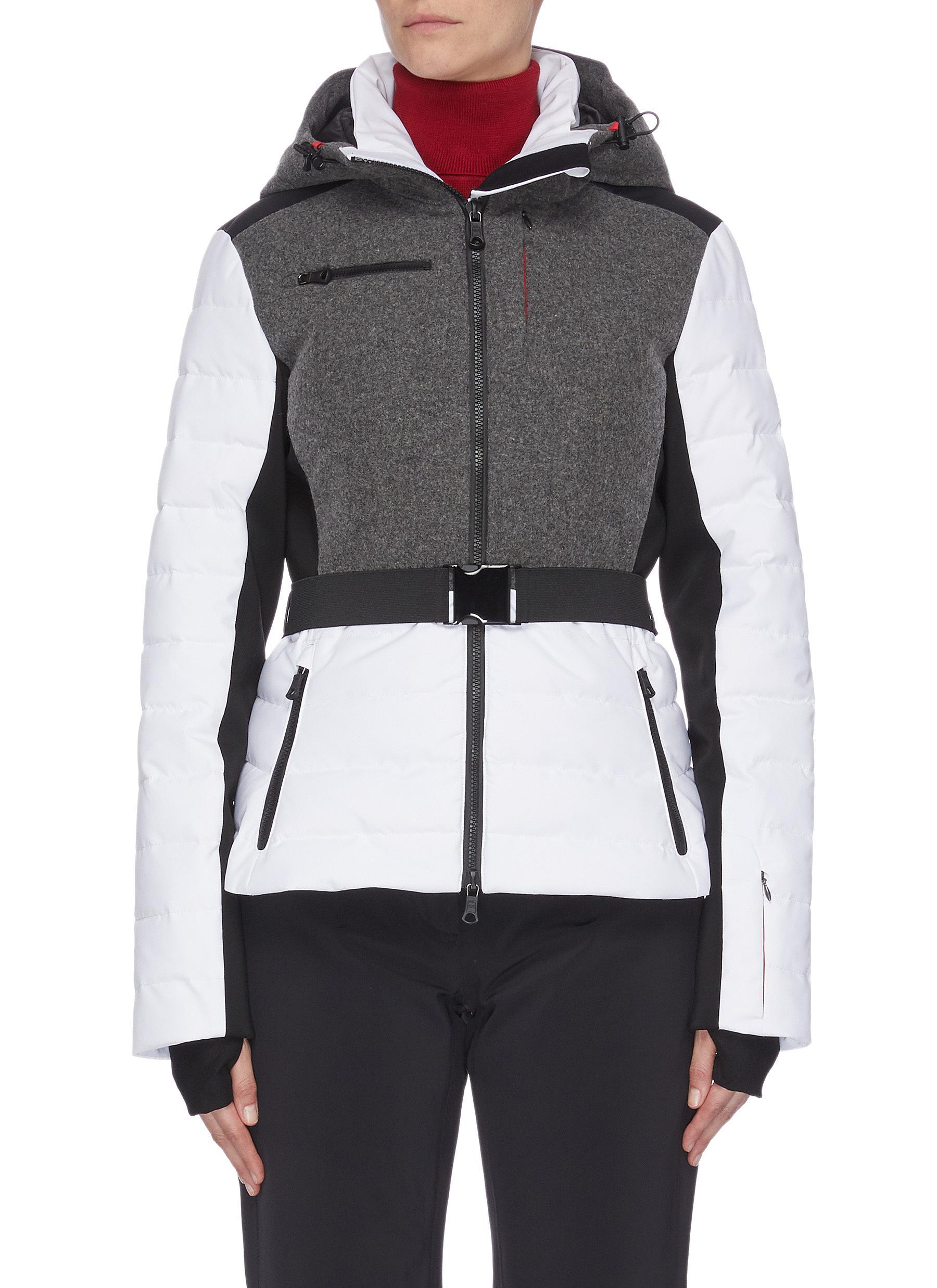 shop Erin Snow 'Kat' panelled performance puffer ski jacket online