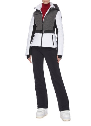 Figure View - Click To Enlarge - ERIN SNOW - 'Kat' panelled performance puffer ski jacket
