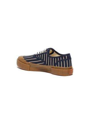 - GOOD NEWS - 'Hurler 2' pinstripe cotton sneakers