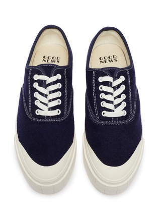 Detail View - Click To Enlarge - GOOD NEWS - 'Softball 2' cotton sneakers
