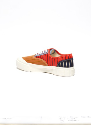 - GOOD NEWS - 'Babe 2' pinstripe colourblock cotton sneakers