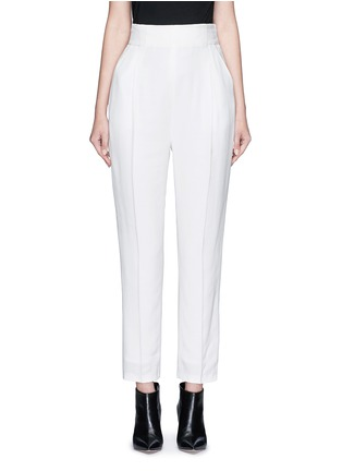 Main View - Click To Enlarge - Haider Ackermann - 'Phaseolus' pleat front crepe pants