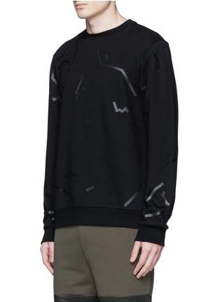 Front View - Click To Enlarge - ALEXANDERWANG - Shadow outline print sweatshirt