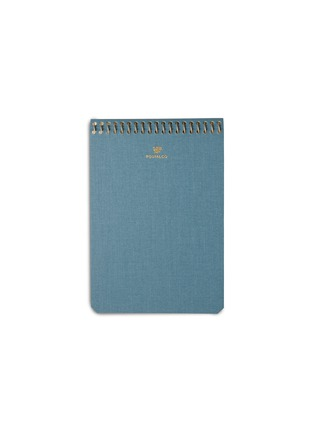 Main View - Click To Enlarge - POSTALCO - A6 pingraph notebook – Light Blue