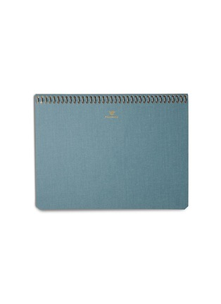 Main View - Click To Enlarge - POSTALCO - A5 pingraph notebook – Light Blue