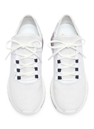 Detail View - Click To Enlarge - ASH - 'Krush Bis' knit sneakers