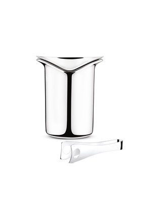 Main View - Click To Enlarge - GEORG JENSEN - WINE ice bucket with tongs
